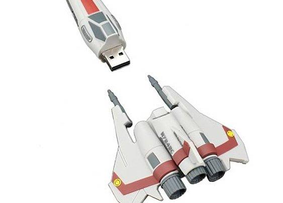 Battlestar Galactica Viper Ship Replica USB 8 GB Flash Drive