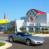 The National Corvette Museum in Bowling Green, Kentucky