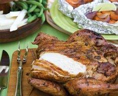 Spice-Rubbed Smoke-Roasted Chicken Recipe | MyRecipes.com