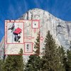 Climbers on El Capitan in Yosemite National Park