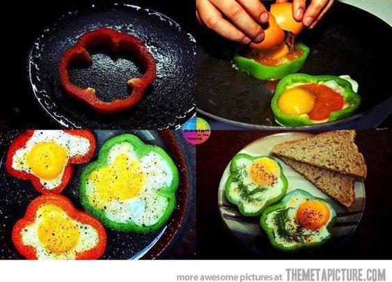 A brilliant way to make breakfast
