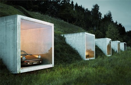 Parking Garage in Sweden Gives Cars a View