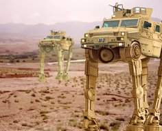 Army To Field Mine Resistant Ambush Protected-Walker Vehicle | The Duffel Blog