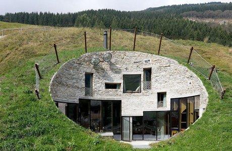 Villa Vals Modern Day Hobbit House Gentlemint