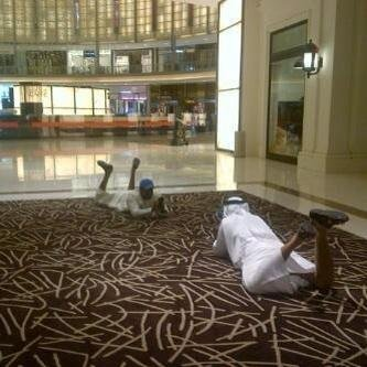 This what happens when Dubai Malls are open 24 hours