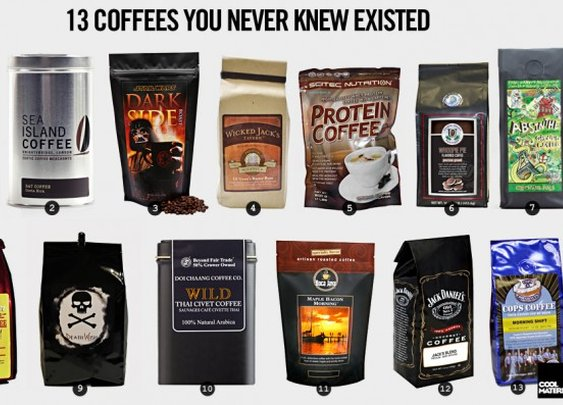 13 Coffees You Never Knew Existed | Cool Material