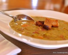 Homemade Split Pea Soup.
