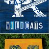 License Plate Art College Sports Logos