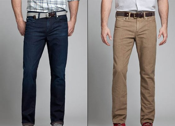 Bonobos Recycled Beer Bottle Jeans   Cool Material