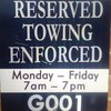 Ummm, what the? Reserved towing?