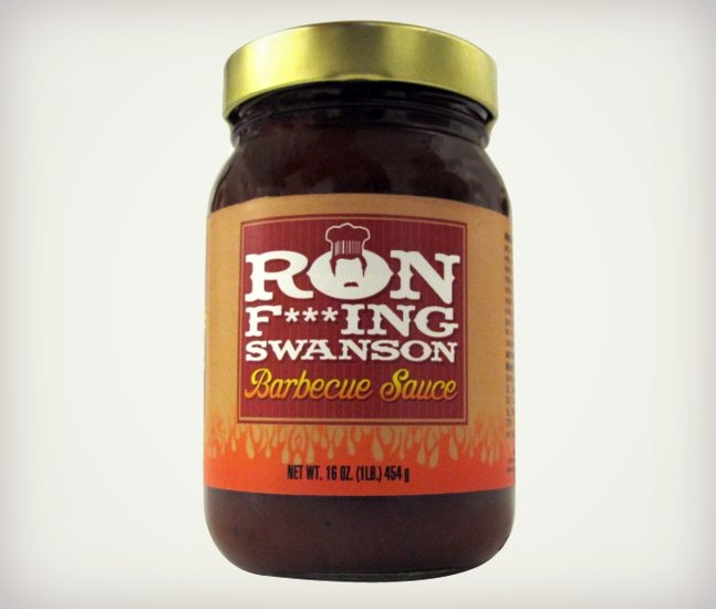 Ron F***ing Swanson BBQ Sauce | Cool Material