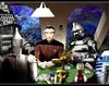 Robots Playing Poker by *Rabittooth on deviantART