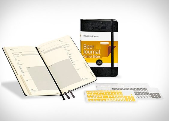Moleskine Beer Journal | Uncrate