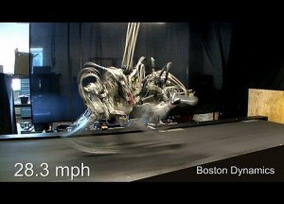Cheetah Robot Sets New Running Record of 28.3 mph; Faster Than Usain Bolt