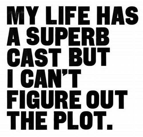 my life has a superb cast