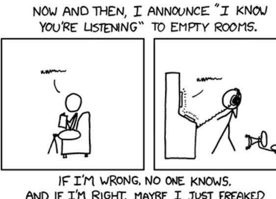 xkcd: I Know Youre Listening - StumbleUpon