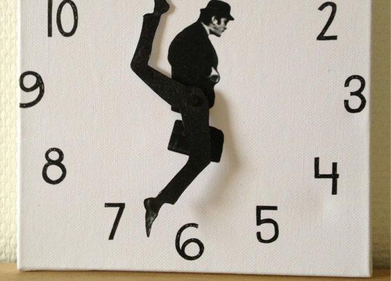 Monty Python Ministry of Silly Walks Clock