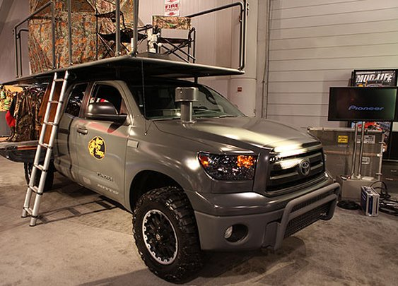 Tundra Sportsman Project Truck | PickupTrucks.com
