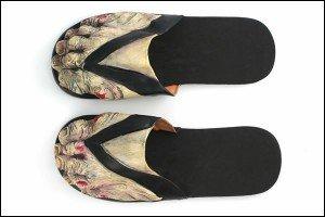 Zombie Sandals for Halloween