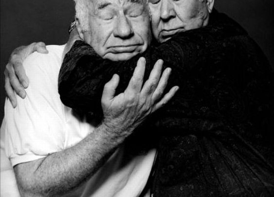 Mel Brooks and Carl Reiner