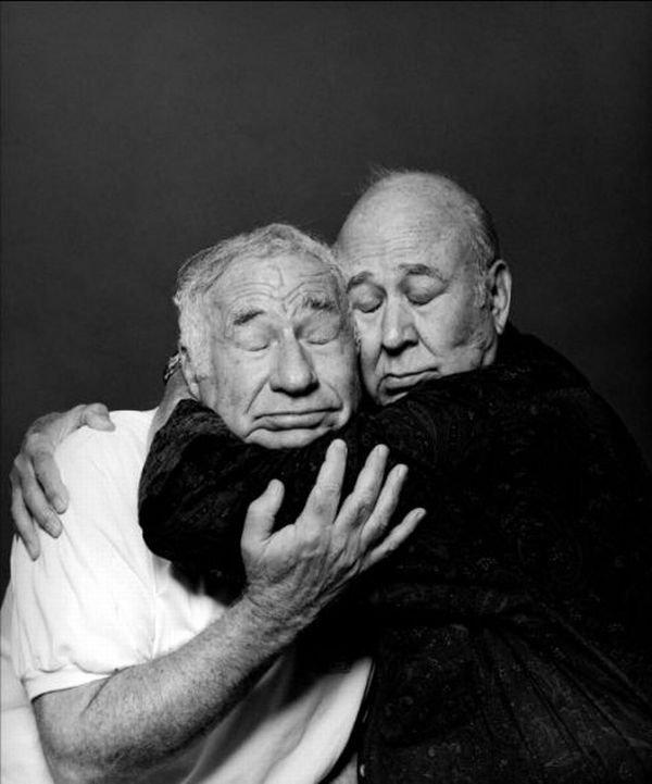 Mel Brooks and Carl Reiner