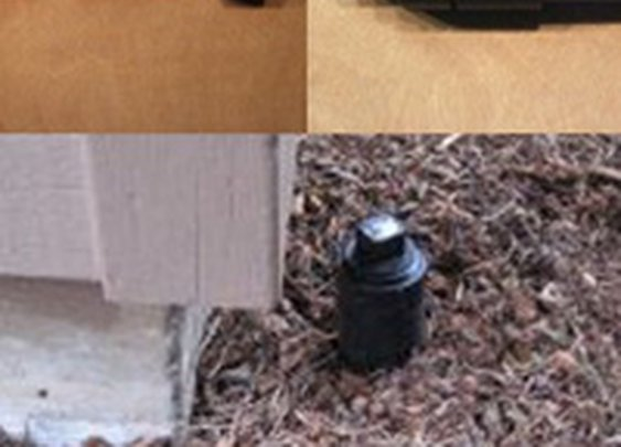Build a Hidden Outdoor PVC Key Holder