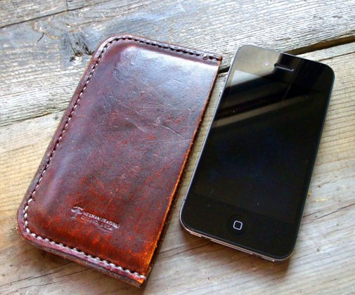 iPhone 4/4s Sleeve  Handmade by Wexman Trading in by WexmanTrading