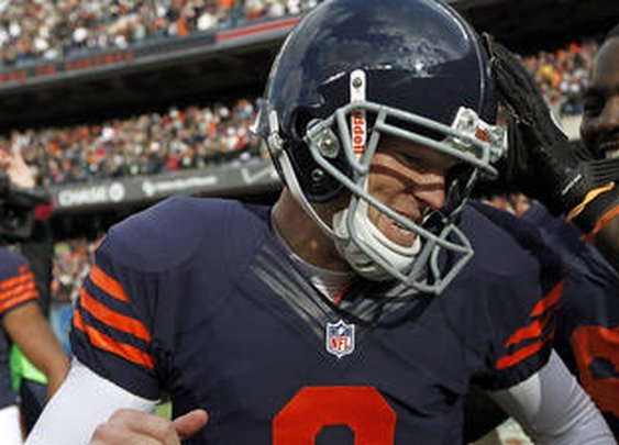 Robbie Gould delivers with 41-yard winning field goal against the Panthers.