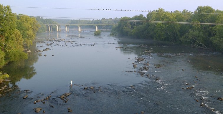 Columbia, SC: Sunday morning on the Congaree River