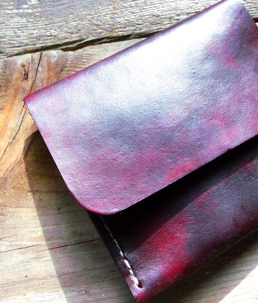 Leather Wallet-Handmade in the United States