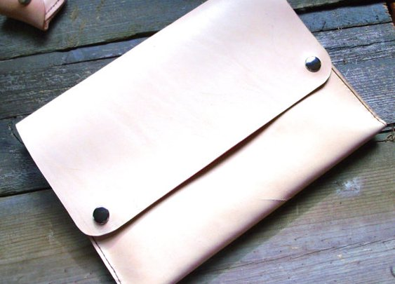 Leather iPad Case Handmade in the USA