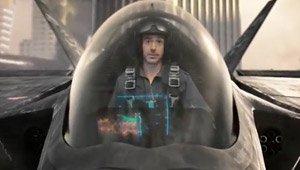 Robert Downey Jr. Bringing a Jet to a Gun Fight