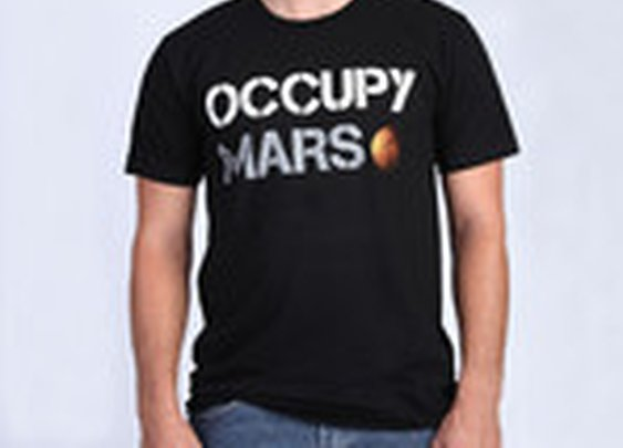 Occupy Mars T-Shirt (Black, Mars, SpaceX, T-Shirt) | T-Shirt | Shop SpaceX
