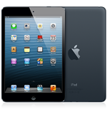The iPad mini in Black Slate, a MUST for every gentleman.