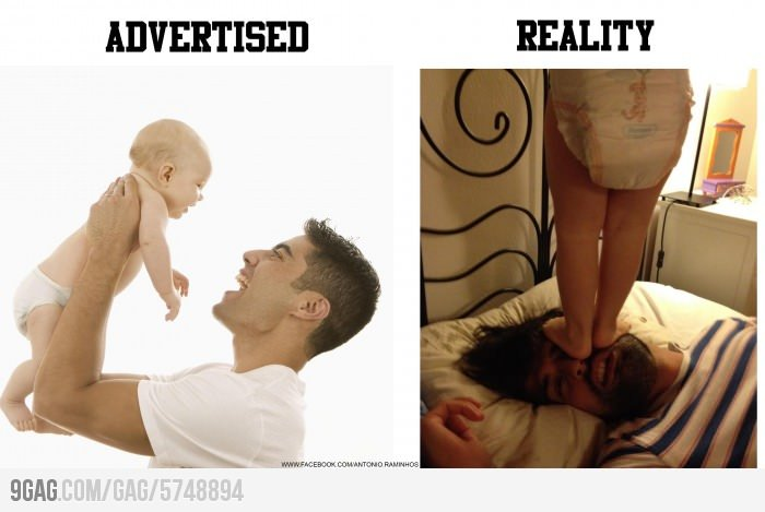 Advertised vs Reality
