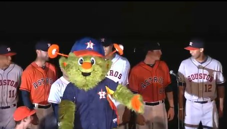 Astros bring back Orbit to be their mascot