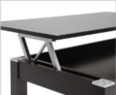 Lift-Top Secret Compartment Table