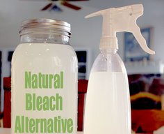 A Natural Bleach Alternative | One Good Thing by Jillee