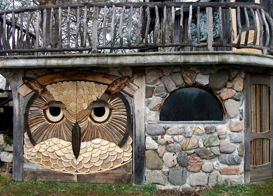 Lloyd's Blog: Owl Shed Doors