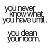 You never know what you have until..