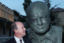 Jerusalem honors Winston Churchill