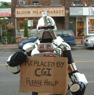 Unemployed Cylon