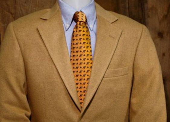 Roosevelt Camel Hair Sport Jacket / Coat