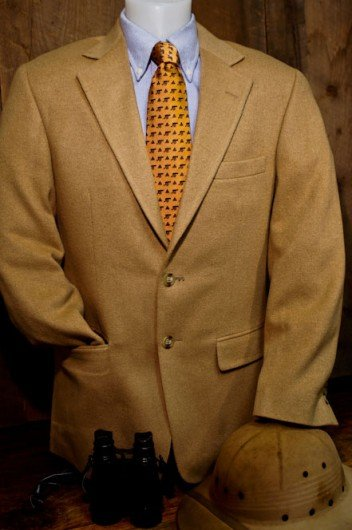 Roosevelt Camel Hair Sport Jacket / Coat