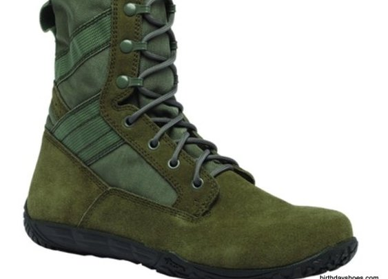 Minimalist Military Combat Boot