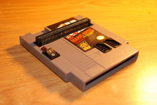 NES Inside an NES Cartridge [DIY] - GADGETOSE