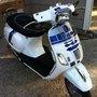 R2-D2 Themed Vespa