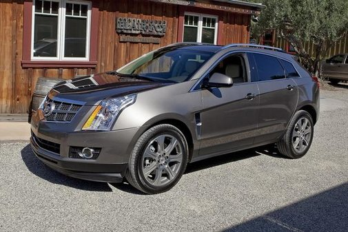 2013 Cadillac SRX Gets CUE Infotainment Interface