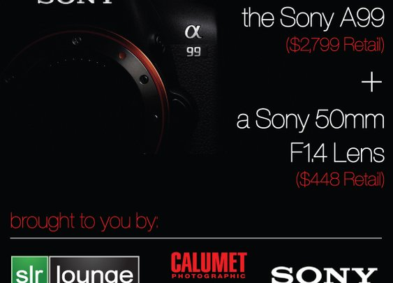 Sony A99 and Lens GIVEAWAY! by SONY, Calumet Hollywood, and SLR Lounge