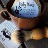 Dirty Deeds Soaps & Bath Accessories - Handmade Soaps of Lubbock / Shaving Mug Set, Boar Brush